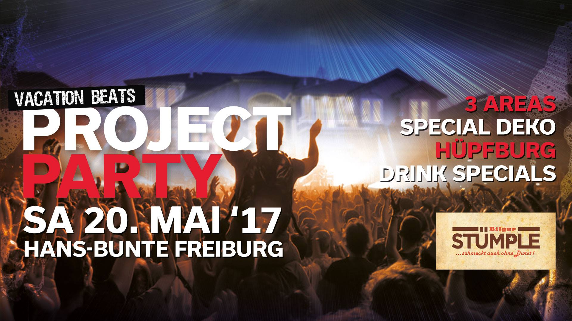 Gewinnspiel project-party-vacationbeats-hans-bunte-areal-freiburg