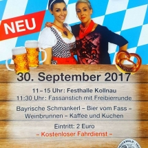 Senioren Oktoberfest 2017 Kollnau Narrenzunft Bruckwaldteufel