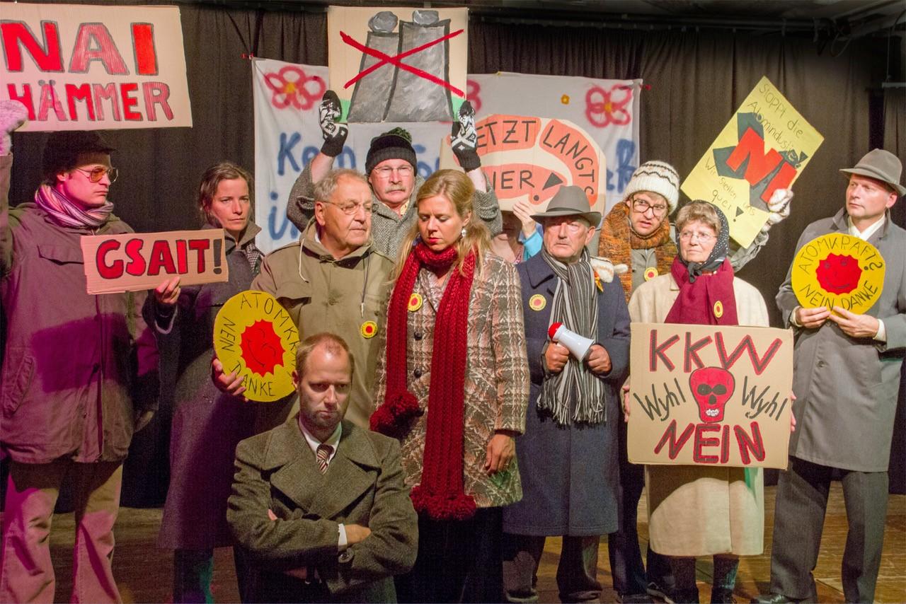 """""""Wyhl""""-Theaterstück """"Rote Sonne – dunkle Nacht"""